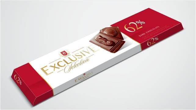 Hořká čokoláda 62% 50 g - Taitau Exclusive Selection