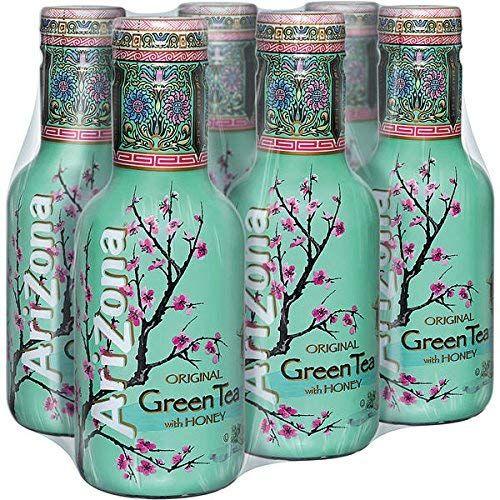 AriZona Green Tea 0,45 L PET - zelený čaj