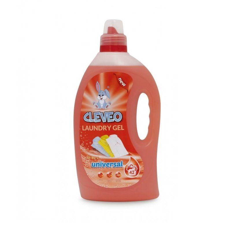 Cleveo prací gel universal 1,5l 42 dávek